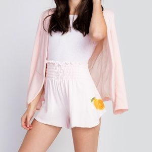 Wildfox OJ Palm Shorts